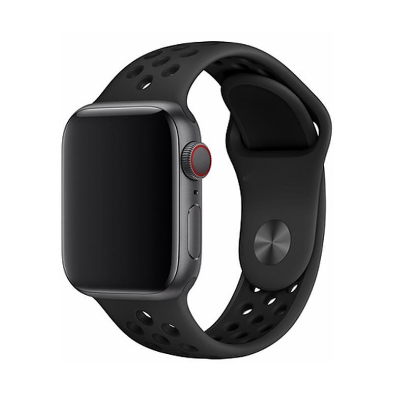 Řemínek Devia Deluxe Sport 2 pro Apple Watch 40mm/38mm černý
