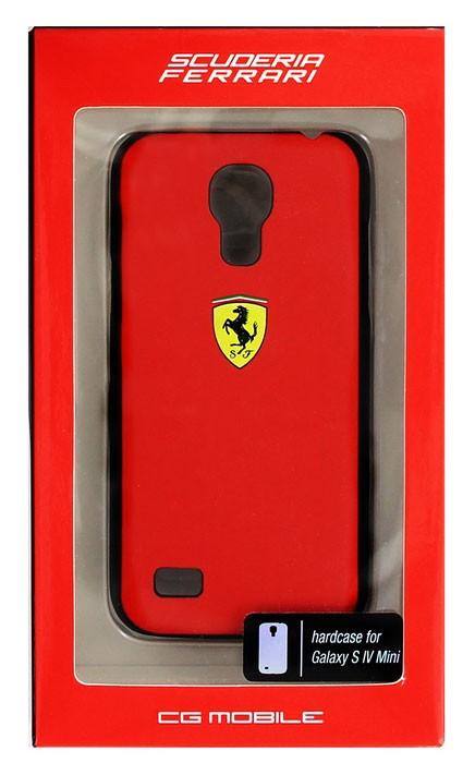 Ferrari Scuderia Rubber Red zadní kryt Gal. S4mini