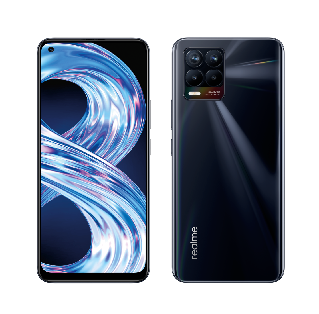 Realme 8 6GB/128GB Punk Black