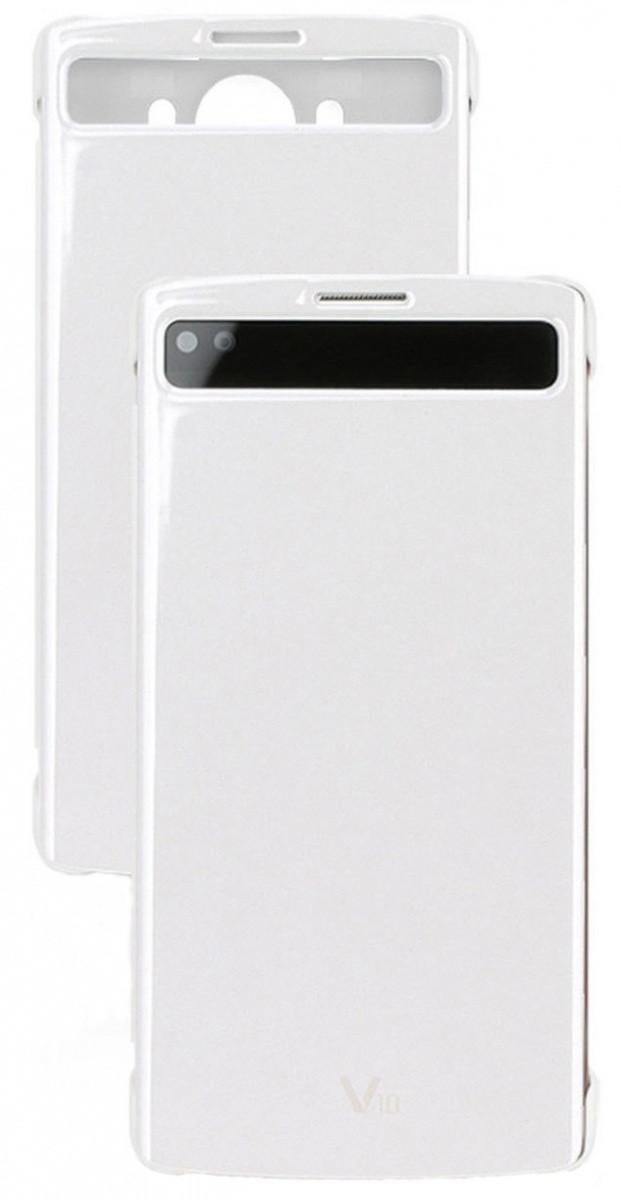 Flipové pouzdro Quick Cover pro LG V10, white