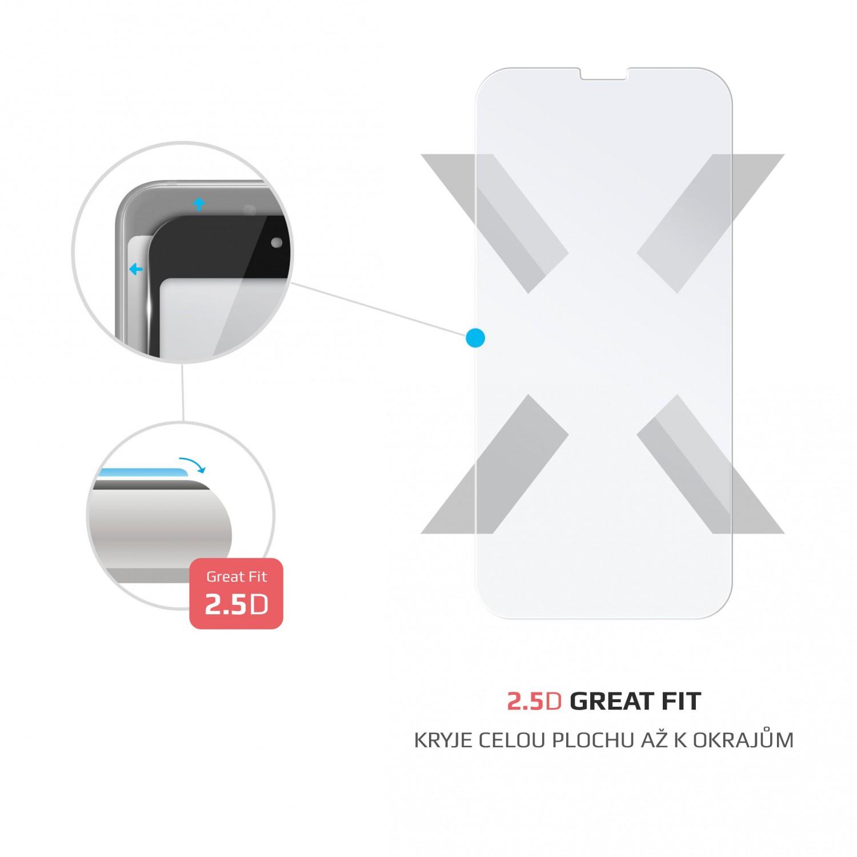 Ochranné tvrzené sklo FIXED pro Motorola Moto G10/G30, čiré