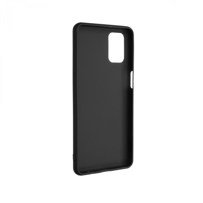 Zadní pogumovaný kryt FIXED Story pro Samsung Galaxy M31s, černý