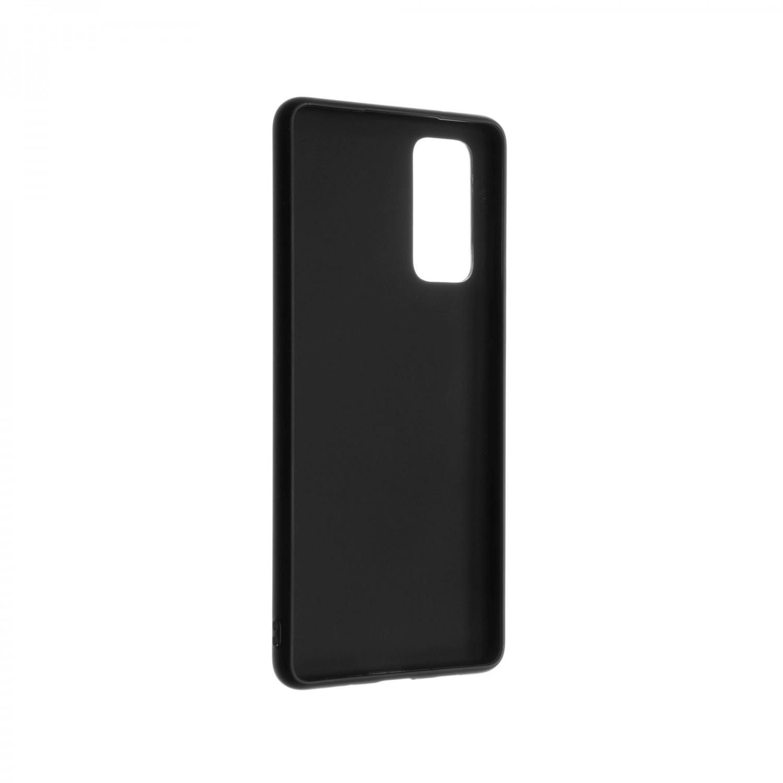 Zadní pogumovaný kryt FIXED Story pro Samsung Galaxy S20 FE/FE 5G, černý