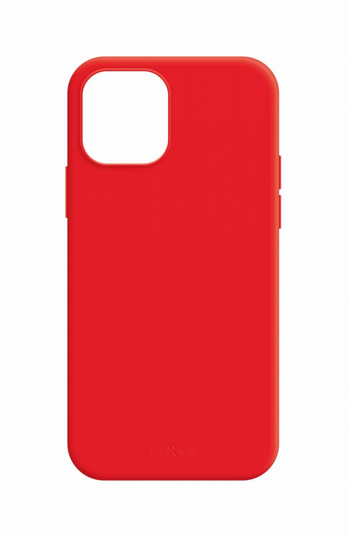 Zadní kryt FIXED MagFlow s podporou Magsafe pro Apple iPhone 12/12 Pro, červený
