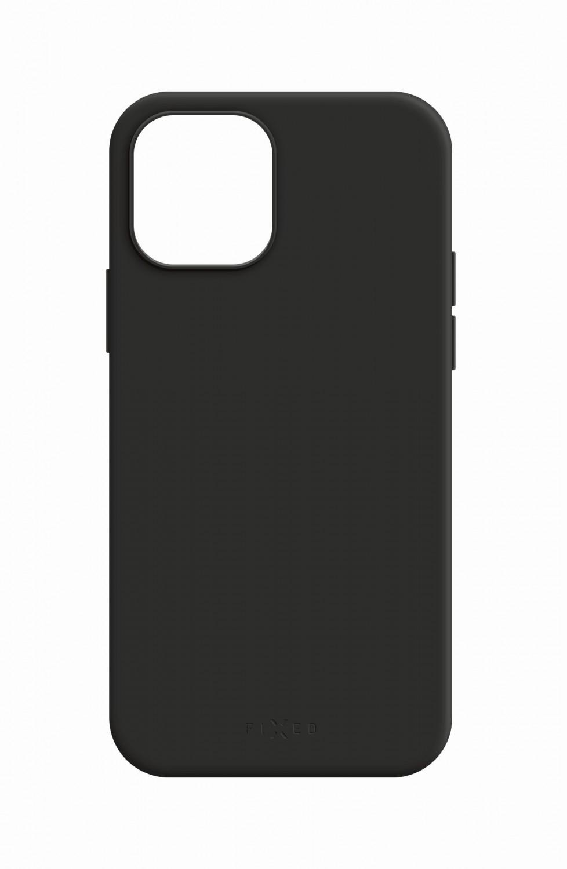 Zadní kryt FIXED MagFlow s podporou Magsafe pro Apple iPhone 12 Pro Max, černý