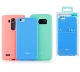 Kryt ochranný Roar Colorful Jelly pro Samsung Galaxy A02s (SM-A025), mátová