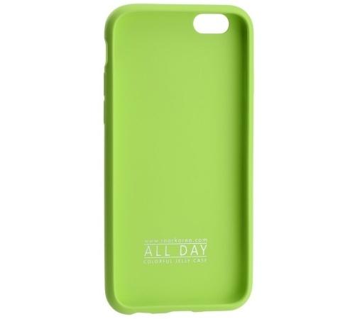Kryt ochranný Roar Colorful Jelly pro Samsung Galaxy S20 FE (SM-G780), limetková