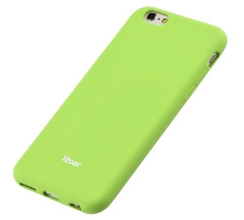 Kryt ochranný Roar Colorful Jelly pro Samsung Galaxy A52 4G/5G, limetková