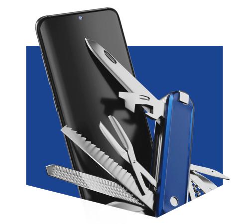 Fólie ochranná 3mk SilverProtection+ pro Xiaomi Mi Note 10, antimikrobiální