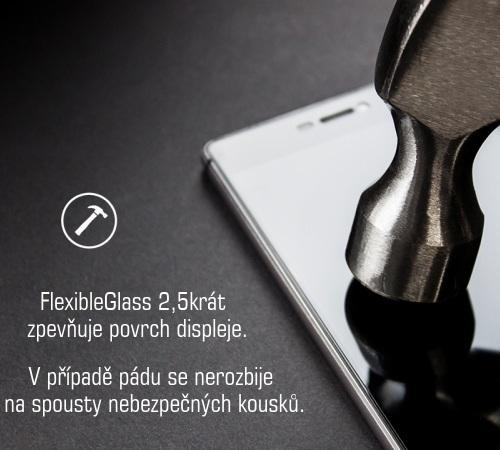 Hybridní sklo 3mk FlexibleGlass pro Motorola Moto G10, Moto G30