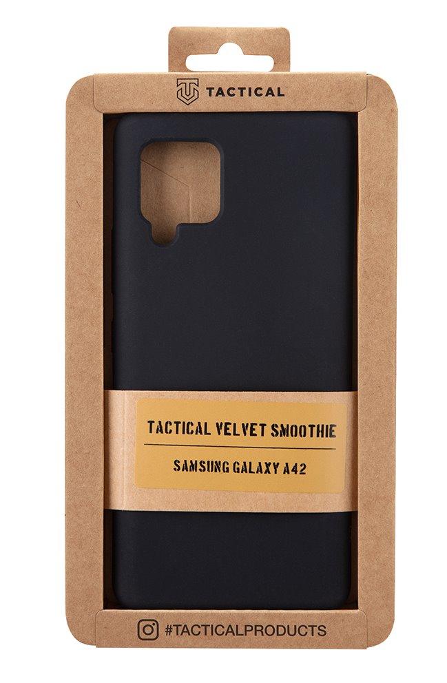 Tactical Velvet Smoothie Kryt pro Samsung Galaxy A42 Asphalt