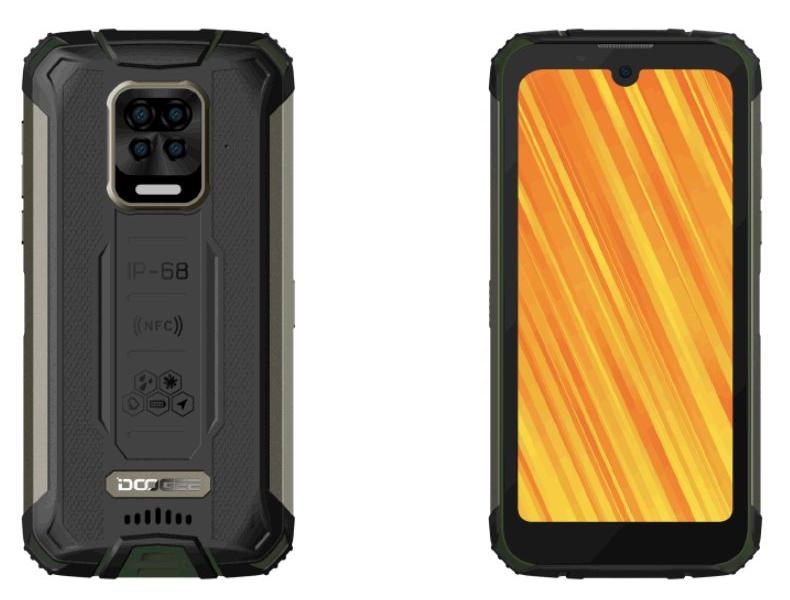 Doogee S59 Pro 4GB/128 zelená