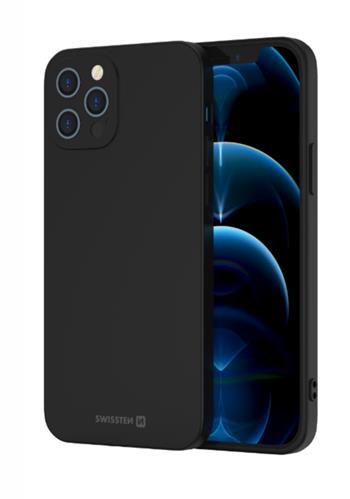 Zadní kryt Swissten Soft Joy pro Xiaomi Poco M3, černá