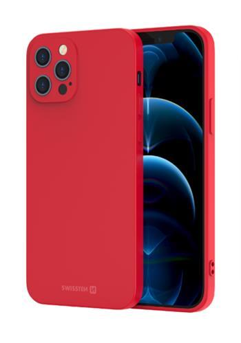Zadní kryt Swissten Soft Joy pro Apple iPhone 12 Pro Max, červená