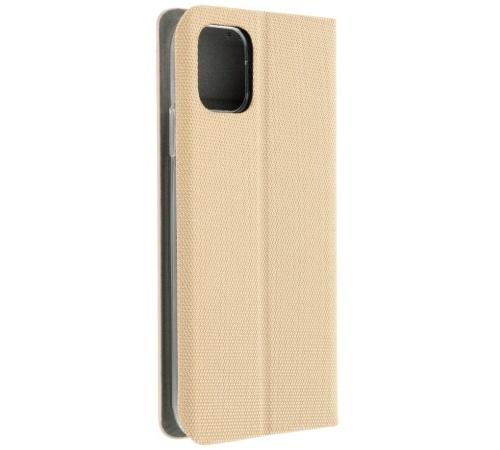 Flipové pouzdro SENSITIVE pro Xiaomi Mi 10T Lite 5G, zlatá