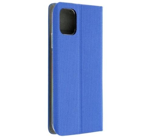Flipové pouzdro SENSITIVE pro Xiaomi Mi 10T Lite 5G, modrá