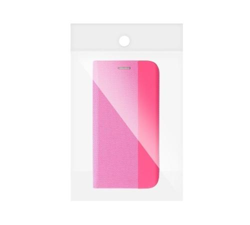Flipové pouzdro SENSITIVE pro Samsung Galaxy A12, růžová