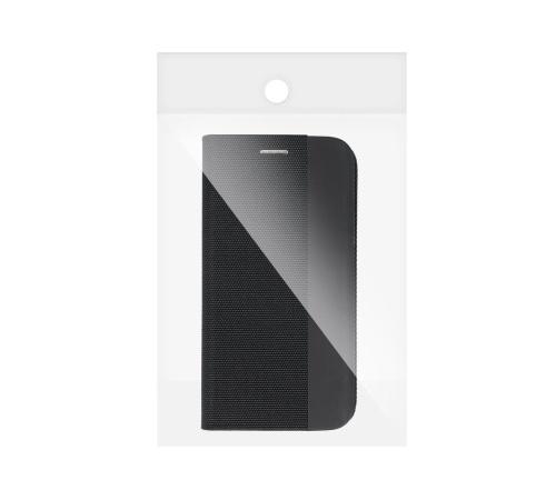 Flipové pouzdro SENSITIVE pro Samsung Galaxy A12, černá