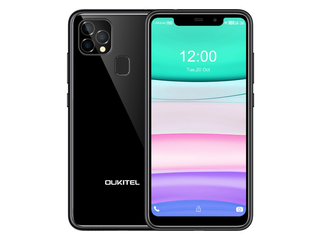 Oukitel C22 4GB/128GB černá