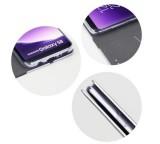 Flipové pouzdro Forcell Luna Book Silver pro Samsung Galaxy A72, černá