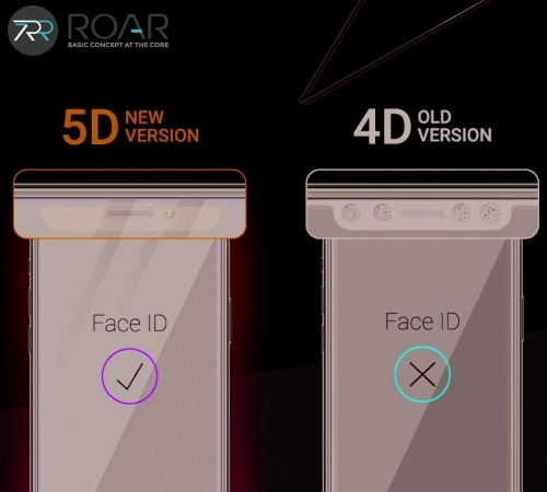 Tvrzené sklo Roar 5D pro Samsung Galaxy S21 (SM-G991) celoplošné, plné lepení, černá