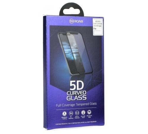 Tvrzené sklo Roar 5D pro Apple iPhone X,  XS, 11 Pro, celoplošné, plné lepení, černá