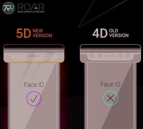 Tvrzené sklo Roar 5D pro Xiaomi Redmi 9T, plné lepení, černá