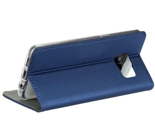 Pouzdro kniha Smart pro Motorola Moto G 5G, modrá