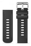 Silikonový řemínek ALIGATOR 22mm, černá