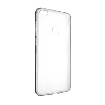 Ultratenké pouzdro FIXED Skin pro Samsung Galaxy A12, čirá