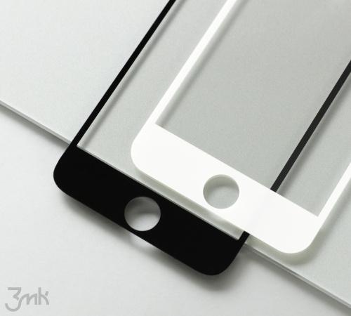 Tvrzené sklo 3mk HardGlass Max Lite pro Realme 8, černá