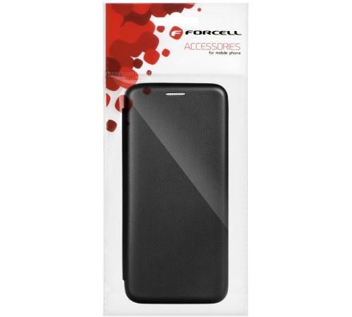 Flipové pouzdro Forcell Elegance pro Samsung Galaxy A02s, černá