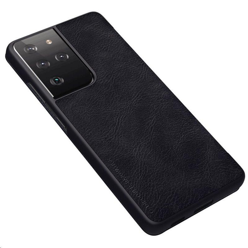 Nillkin Qin Book flipové pouzdro pro Samsung Galaxy S21 Ultra, černá