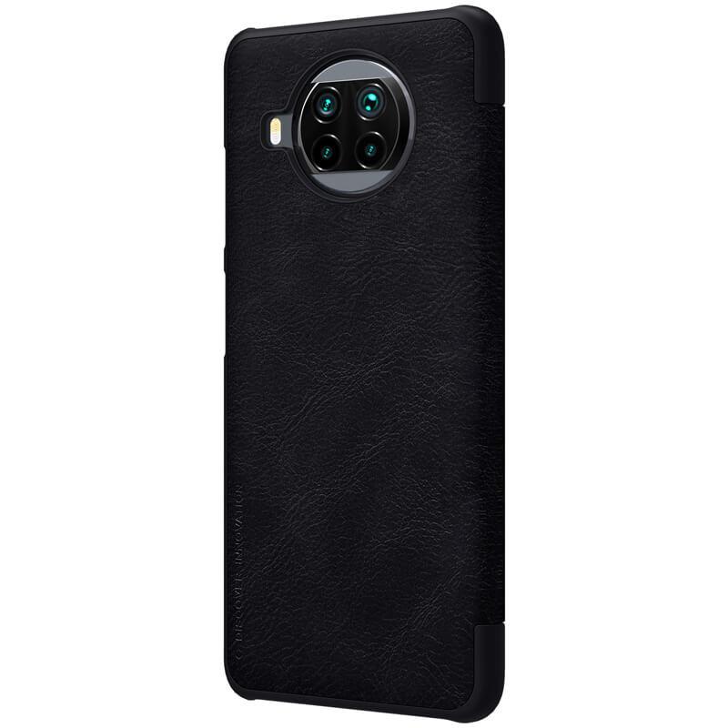 Nillkin Qin Book flipové pouzdro pro Xiaomi Mi 10T Lite 5G, černá