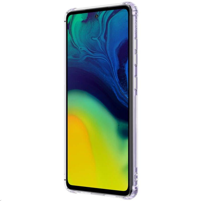 Silikonové pouzdro Nillkin Nature pro Samsung Galaxy A52, transparentní