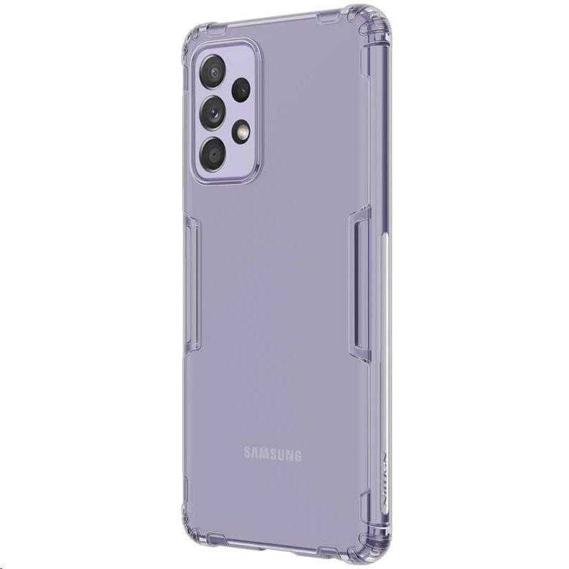 Silikonové pouzdro Nillkin Nature pro Samsung Galaxy A52, šedá