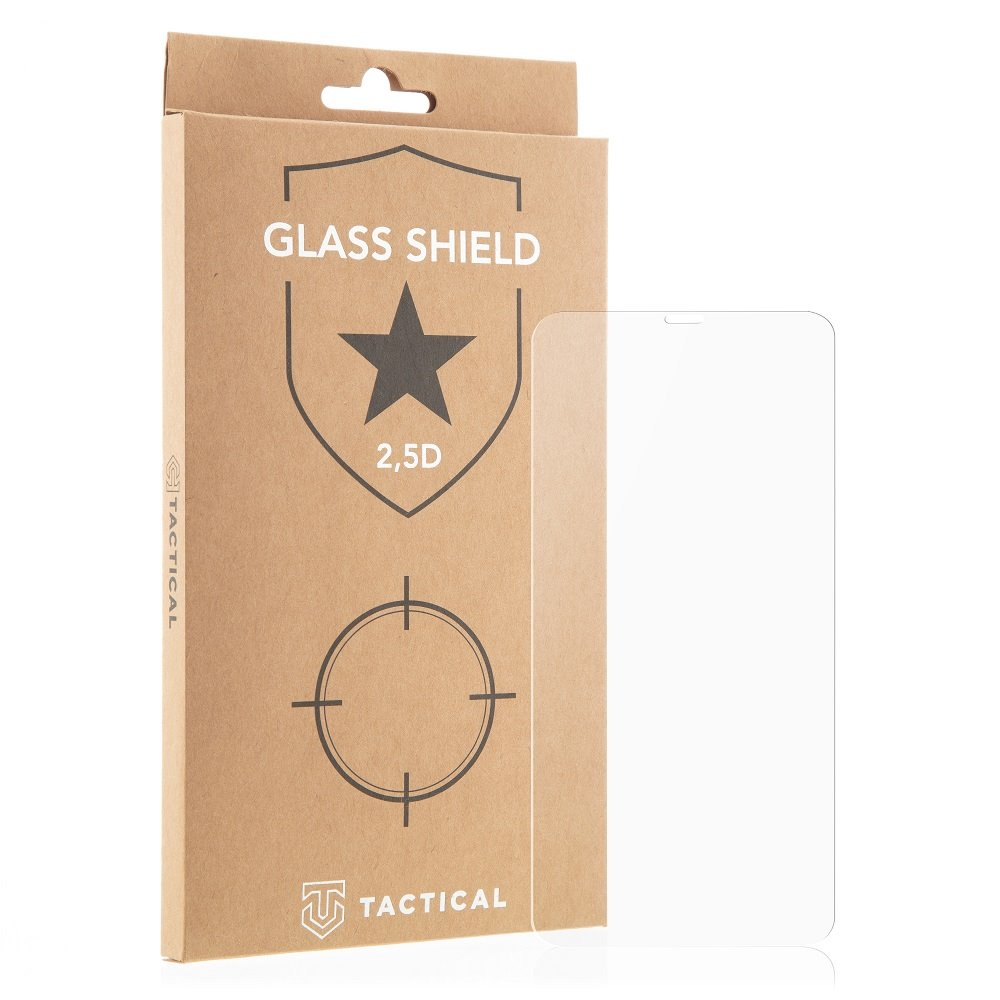 Ochranné sklo Tactical Glass Shield 2.5D pro Motorola E6i, čirá
