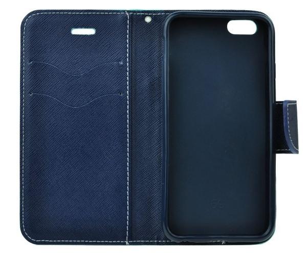 Pouzdro kniha Fancy pro Samsung Galaxy A52 4G/5G, červeno-modrá (BULK)
