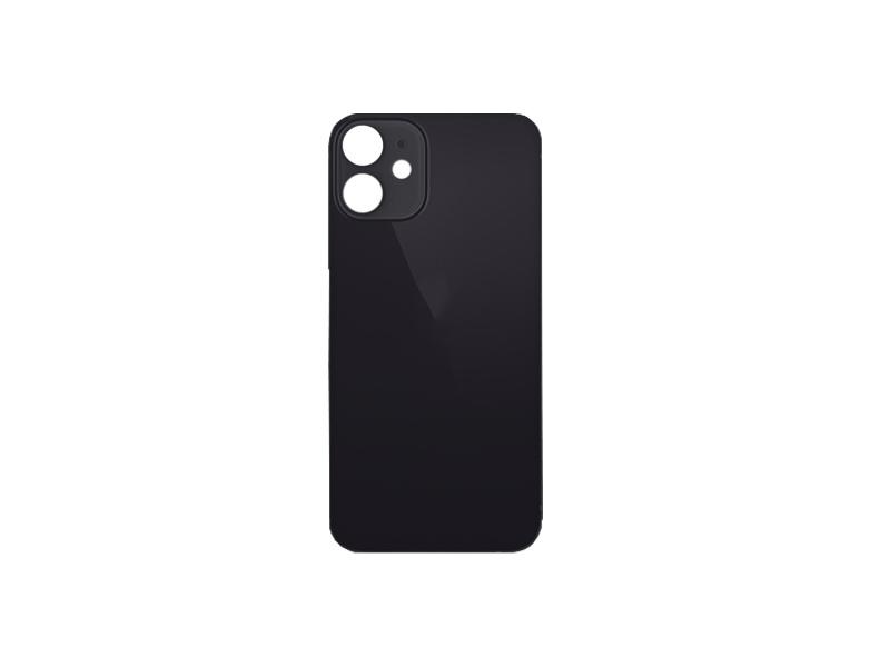 Kryt baterie Back Cover Glass + Big Camera Hole pro Apple iPhone 12 Mini, černá