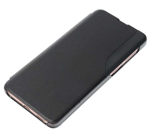 Flipové pouzdro SMART VIEW pro Xiaomi Redmi Note 9T, černá