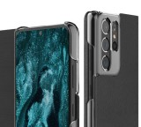 Flipové pouzdro ARAREE Mustang pro Samsung Galaxy S21 Ultra, black