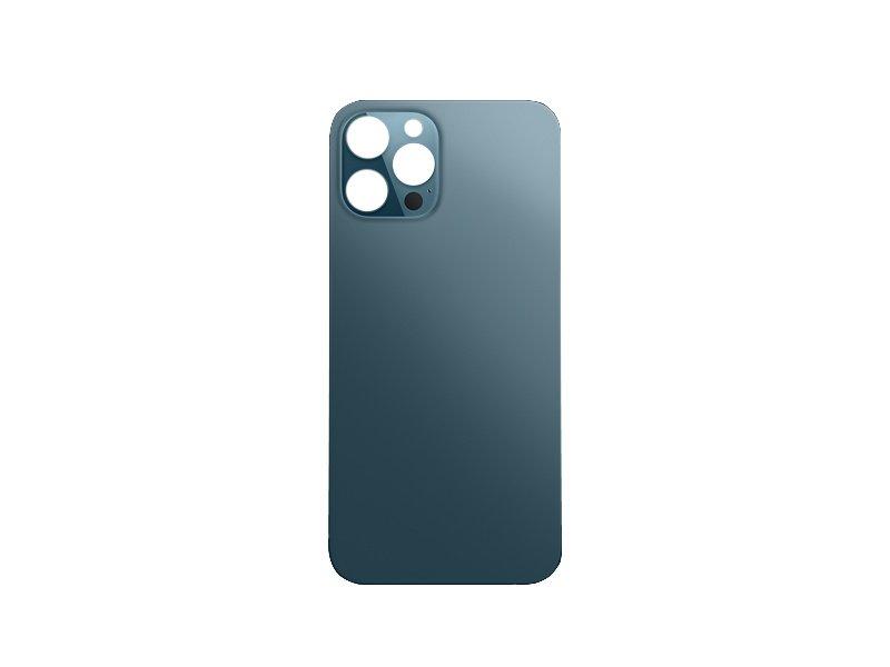 Kryt baterie Back Cover Glass + Big Camera Hole pro Apple iPhone 12 Pro, tichomořsky modrá
