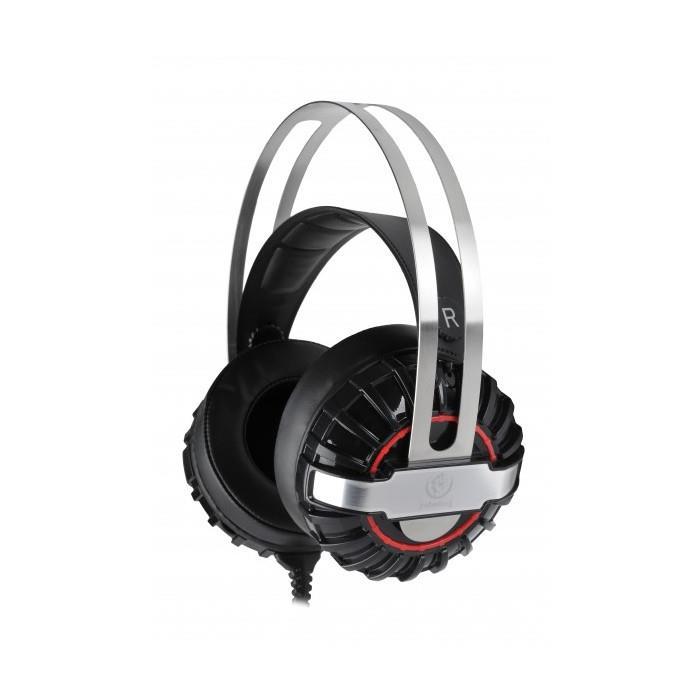 Herní sluchátka Rebeltec Typhoon černé