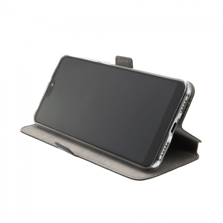 FIXED Topic flipové pouzdro pro Motorola Moto G Power 2021, černá