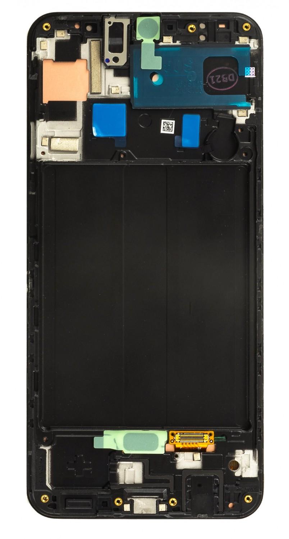 LCD display + Dotyk Samsung A507 Galaxy A50s Black (Service Pack)