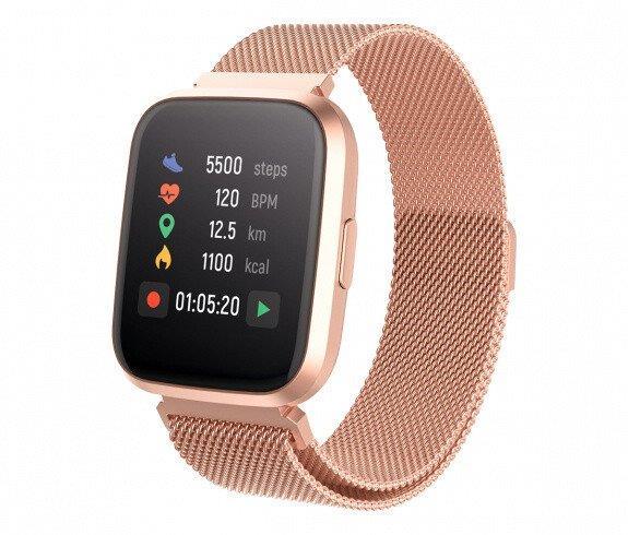 Chytré hodinky Forever ForeVigo 2 SW-310 zlaté