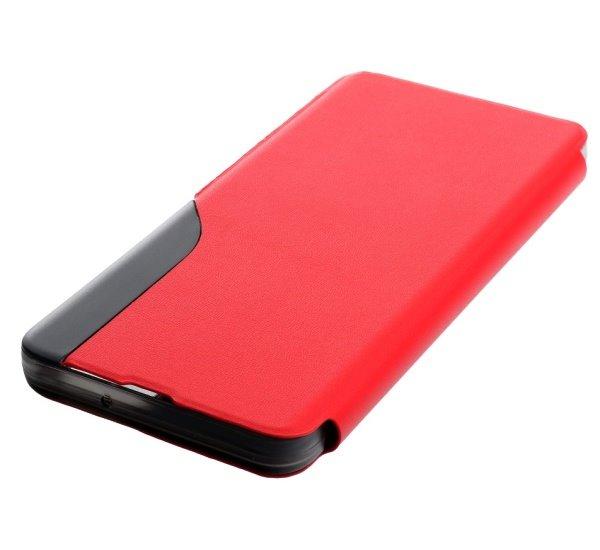 Pouzdro SMART VIEW pro Xiaomi Redmi Note 10 Pro, červená