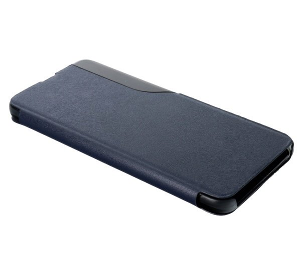 Pouzdro SMART VIEW pro Samsung A42 5G (SM-A426) tmavě modrá