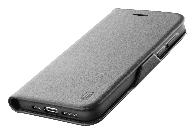 Pouzdro Cellularline Book Clutch pro Samsung Galaxy S21 Ultra, černá