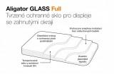 Tvrzené sklo ALIGATOR FULL COVER pro Xiaomi Mi 11, černá